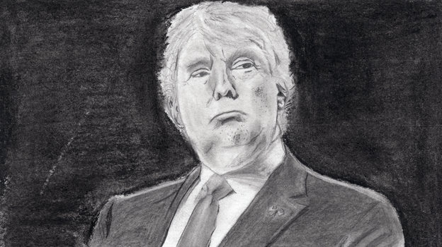 Donald Trump by Sparkishay