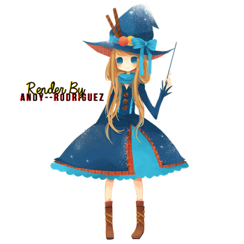 Candy witch Render by Andy--Rodriguez