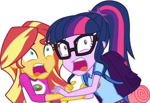 Twi and Shimmer Scared by Uponia