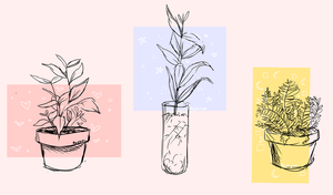 plants by Remishu