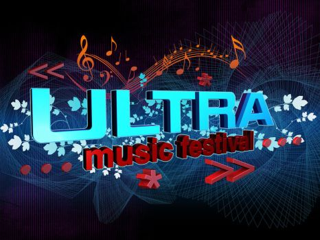 Ultra Music Festival Wallpaper by cdjdezigns