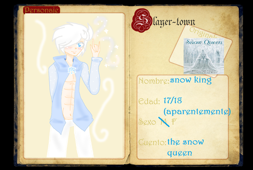 Ficha The Snow King by roxii1012