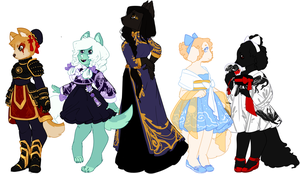 Original Adopts [OPEN] by Death2Eden