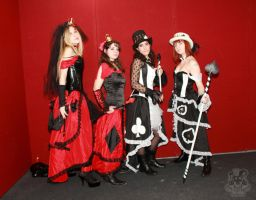 Cards' Queens 5 by MiracoliCosplay