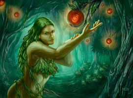 Dryad by JWilsonIllustration