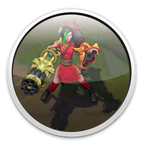 Firecracker Jinx Ingame Icon League of Legends by ViciousBlue