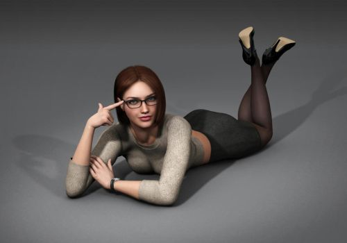 Amanda 2017 Winter Outfit by Torqual3D