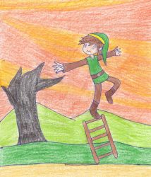 Link's Ladder by Sm-ArtThings