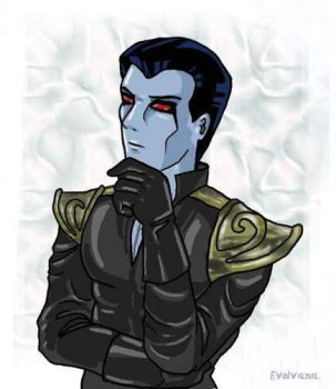 Mitth'raw'nuruodo young Thrawn by Evolvana