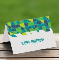 Free Printable Birthday Card by ClementineCreative