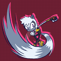 Tangle The Lemur by CurtZeNinja
