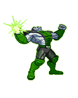 Colossus Green Lantern by Neo909