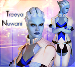 Mass Effect: Treeya Nuwani - model for XnaLara by Sia-G