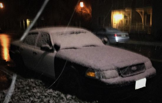 My car in the snow by humloch