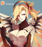 [FA]Mercy - Overwatch by danzaza9090