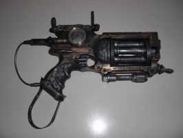Steampunk Nerf Maverik by Neo-Creations
