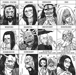 Expression Meme: Res by ComaKoma