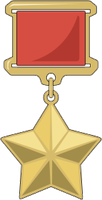 Hero of the USSR medal by ImperialAce