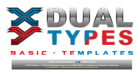 XY Dual Types - Basic Templates by aschefield101