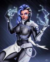 Sombra Cyberspace by Jhanquaza