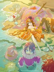 After Storm (Orange princess party disaster) by APetruk