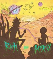 Rick and Morty  sketch by Stilletta
