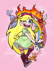Star Butterfly by Tropic-Mews