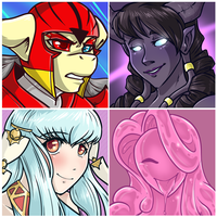 Icon and Art Set 27 by LittleSocket