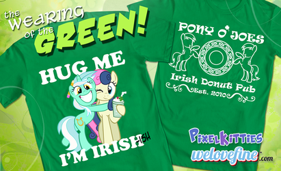 St Patty's Day shirts from We Love Fine! by PixelKitties