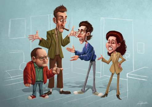 Seinfeld by denisalonso