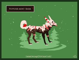 Holiday Zippurrcat: Peppurr-Mint Bark [Open] by Immonia