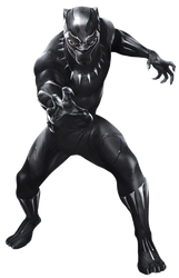 Black Panther (1) - PNG by Captain-Kingsman16