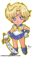 Sailor Uranus. by amethyst-rose
