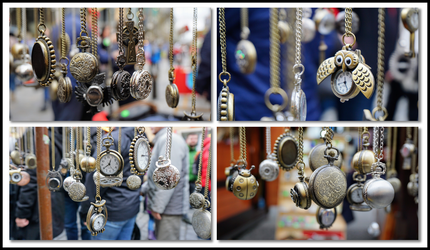 Pocket Watches - Collage by CleverSparkle