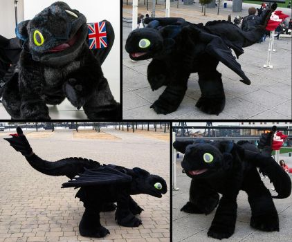 Toothless by refira