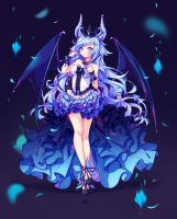 [+Video] Commission - Demon Princess by Hyanna-Natsu