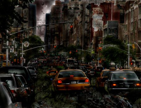 Post Apocalypse by BloodyMinded6