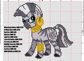 Zecora Cross Stitch Pattern by AgentLiri
