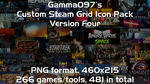 Steam Grid Icon Pack: Version Four by gamma097