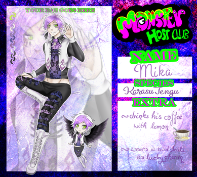 [MonsterHostClub]Application - Mika by Kisoro