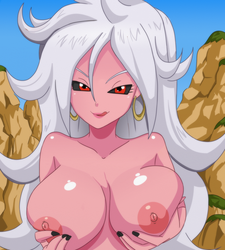 Android 21 majin by Shablagooo