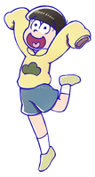 Jyushimatsu sticker by Kata-elf