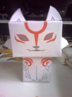 Okami papercraft ! by Merengil