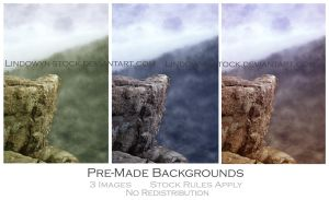 Premade Fantasy Pack 1 by lindowyn-stock