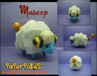 Mareep - Offical picture by Toshikun