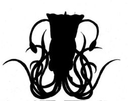 Silhouett of squid by LucyQ602