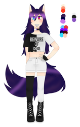 DALILA'S REFERENCE by DalilaAmethyst