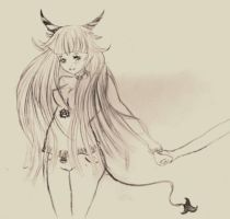 devil girl by pinocchiosVices