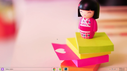 Tema Windows 8 Cute Chinese by AleColorfulEditions