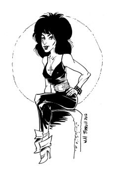 Death and Sandman by willterrell